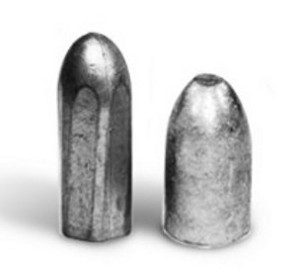 A hexagonal bullet developed for the Whitworth rifle