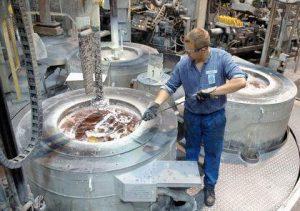 <i>Light metal foundry, melt treatment</i>