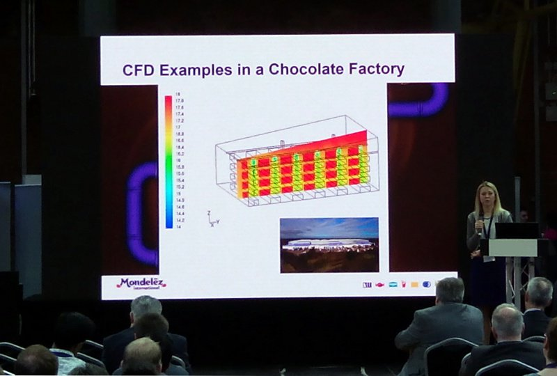CFD simulations used for ensuring homogenous temperature within warehouse