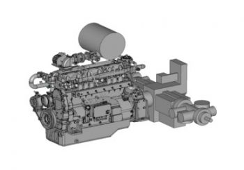 How to Simplify the CAD Geometry of an In-line Six-cylinder Engine?