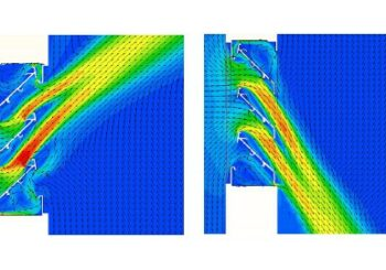 Louvre simulation vs. test data: a crusade to find the missing pressure loss