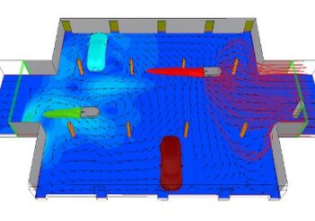 Car park ventilation CFD simulation: Age of air can show what air changes per hour cannot